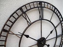 amazing big metal wall clock 70 large metal wall clocks oversized