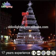 newest style holiday street decoration lighted outdoor wire