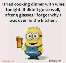 Funny Minion Memes - funny minion memes about wine vs cooking gap ba gap