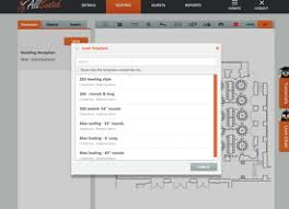 Event Floor Plan Designer Free And Easy Event Planning Tools Floor Plans And More Allseated