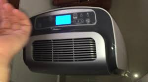 shown on all speeds rowenta brand dehumidifier in my parents