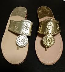 not intent on arriving jack rogers platinum and gold sandals