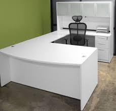 White Office Desk Ikea The 25 Best Ikea U Shaped Desk Ideas On Pinterest Throughout U