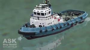 rc boat smit netherland tiny tug boat youtube
