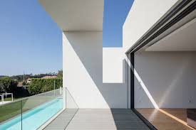 architecture interior white modern house decoration using clear