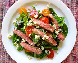 green bean recipes for thanksgiving steak salad with green beans tomatoes and blue cheese farmers