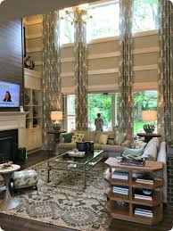 Two Story Living Room Decorating Ideas Carameloffers - Two story family room decorating ideas