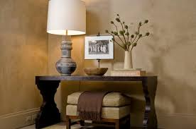 Entryway Console Table With Storage How To Decorate A Console Table Top Seeing The Forest Through The
