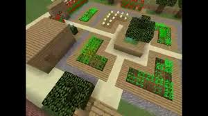minecraft kitchen garden youtube