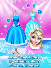 ice princess dress designer game for fashion girls apps 148apps