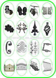 wrought iron ornaments cast iron grape leaves view iron ornaments