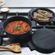 cuisine cocotte en fonte morso grill cocotte en fonte pour poêle bbq four et induction