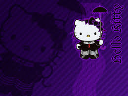 wallpaper hello kitty violet hello kitty images wallpapers hd wallpaper and background photos
