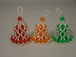 pin by on beaded ornament bells ornament