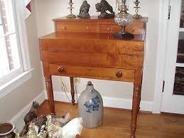 Cherry Secretary Desk by Pre 1800 Desks U0026 Secretaries Furniture Antiques U2022 133 Items