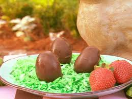 chocolate covered eggs chocolate covered potato eggs recipe paula deen food network