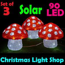 outdoor mushroom lights solar christmas lights outdoor triachnid com