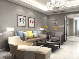 wallpaper livingroom grey wallpaper living room home design plan