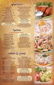 los patios menu el parral reidsville nc menu el parral u0026 monterrey mexican