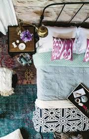 Einrichtungsideen Schlafzimmer Farben Schlafzimmer Ein Vielfalt Von Stoffen Wohnen Pinterest