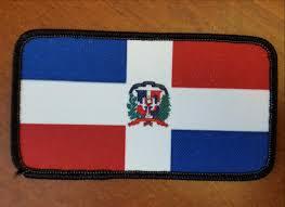 Dominican Republic Flag Dominican Republic Flag Patch U2013 Caribbean Apparel