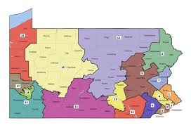 Maps Of Pa Pa Supreme Court Issues New Pa Congressional Map Wpsu