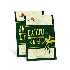 Teh Hijau daduzi sachet teh hijau celup kesehatan langsing detox perut