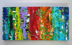 bright canvas colorful canvas blue green red yellow orange