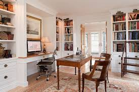Lighting For Bookshelves by 23 Space Savvy Home Offices That Utilize Their Corner Space