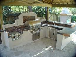 outdoor kitchen ideas on a budget charming backyard kitchen best outdoor kitchens ideas on at a within