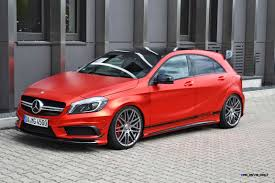 chrome benz mercedes benz a45 amg by folien experte