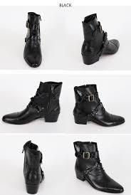 minsobi rakuten global market leather belted boots mens
