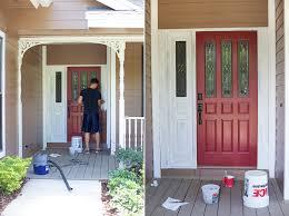 Frontdoor by Painting Front Door I71 In Beautiful Home Design Ideas With