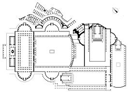 Baths Of Caracalla Floor Plan History Of Libraries