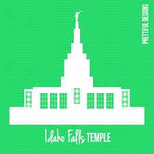 idaho falls temple lds mormon silhouette clip art png eps svg