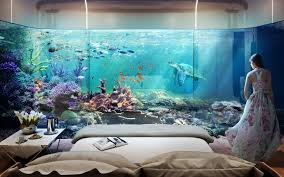 Futuristic Homes Interior These Futuristic Floating Seahorse Homes Are Partially Submerged