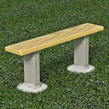 Athletic Benches Wood U0026 Steel Pilot Rock