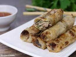 cuisine vietnamienne facile nems vietnamiens au porc entrées nems vietnamiens