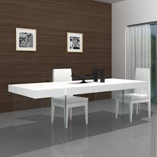 superb modern dining room tables wood material walnut finish