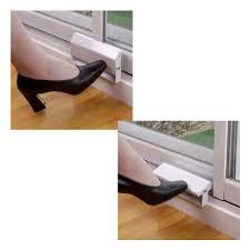 Patio Door Foot Lock Aluminum Sliding Glass Patio Door Foot Lock Sliding Doors Design