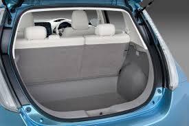 nissan tiida trunk space nissan leaf affordable all electric hatch goes on sale in 2010