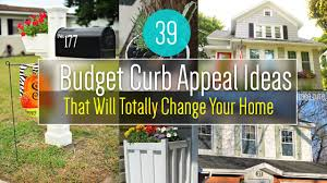 39 cheap curb appeal ideas for home youtube