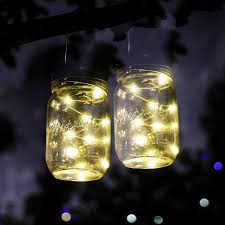 Mason Jar Patio Lights by Outdoor Solar Lighting Products Solarhousenumbers Org