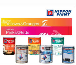 nippon paint zingy yellows u0026 oranges lustrous pinks u0026 reds 5l