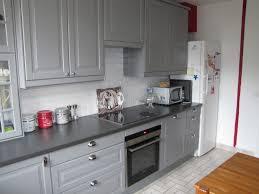 cuisine repeinte en gris cuisine rustique repeinte en gris maison 2017 et cuisine repeinte en