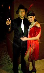 Flapper Gangster Couple Halloween Costumes Costumes Adults U0026 Kids Fun Costumes Mesa Az Costume Rentals
