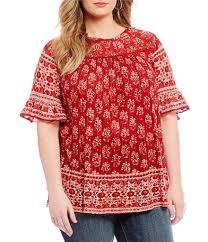 plus size blouse plus size tops blouses dillards