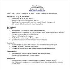 Sample Security Resume by Security Clearance Resume Example Bright Inspiration Military To