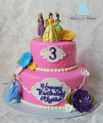carisa u0027s cakes two tiered princess cake