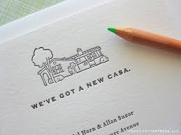 Change Of Address Announcement Letter Love This Might Have Husband Draw Illustration Of Our New House